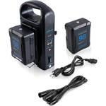 Baterijų ir įkroviklio rinkiniai